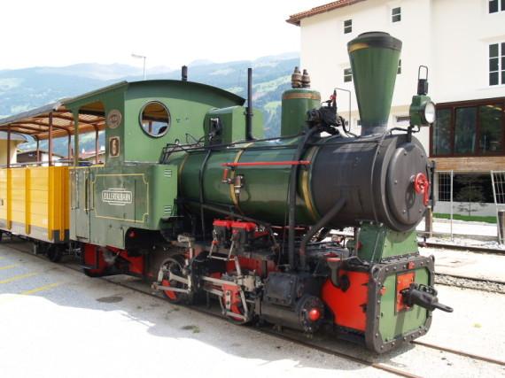 Zillertalbahn, D6, Schmalspur, Dampflok