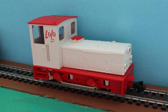 Feldbahnlok, Diesel, 1:35, Umbau, Altern, Eigenbau, Magic Train