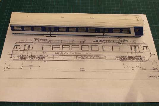 4020, ÖGEG, 4855, Stern, Hafferl, Modell, Eisenbahn, ST, Umbau, H0, Haager Lies, Triebwagen