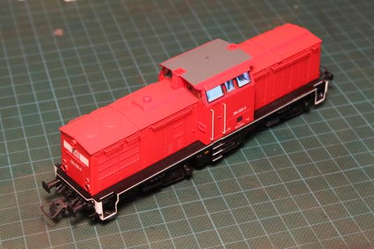 V100, SETG, Umbau, Beschriftung, Ghost White, Decal, Modellbau, Modellbahn, H0, Ho, 1:87